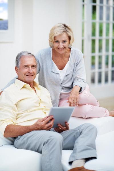 Senior Tablet users